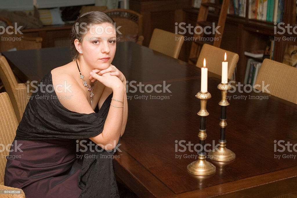 ready for formal party royalty-free stock photo