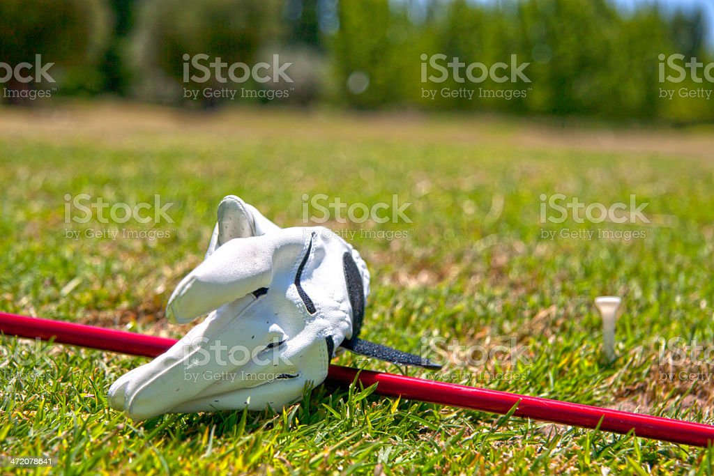 Ready for Golf royalty-free stock photo