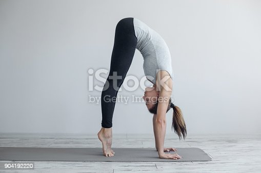 Ready for handstand pose