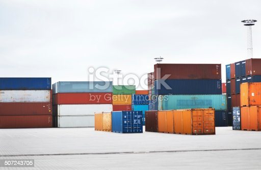 697974610 istock photo Ready for international shipping 507243705