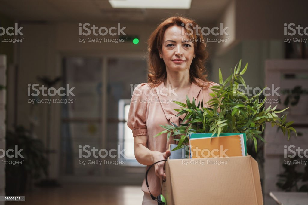 Ready for new beginning stock photo