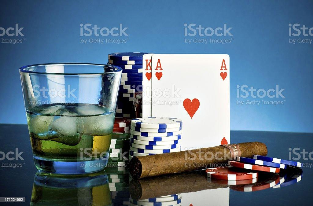 Ready for poker royalty-free stock photo