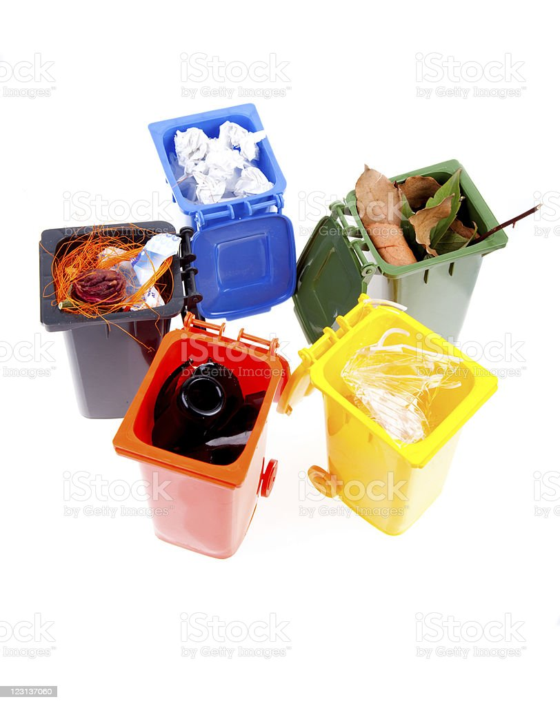 Ready for Recycling royalty-free stock photo