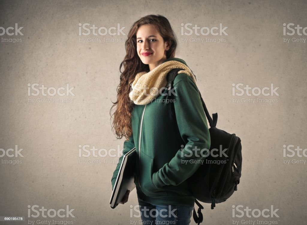 Ready for school stock photo