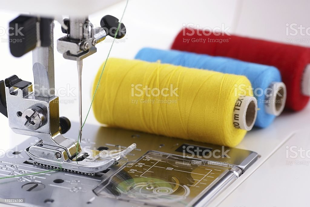 Ready for sewing stock photo