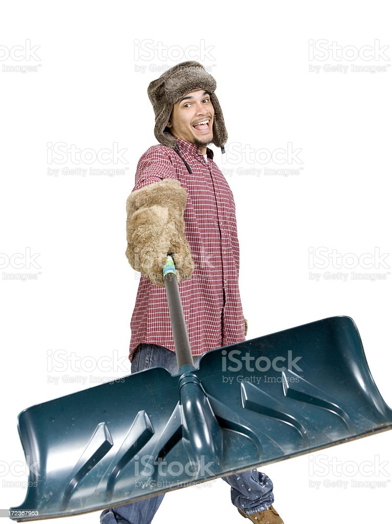 Ready for Snow royalty-free stock photo
