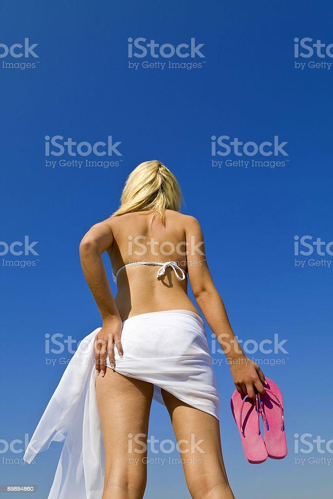 К пляжу Стоковые фото Стоковая фотография