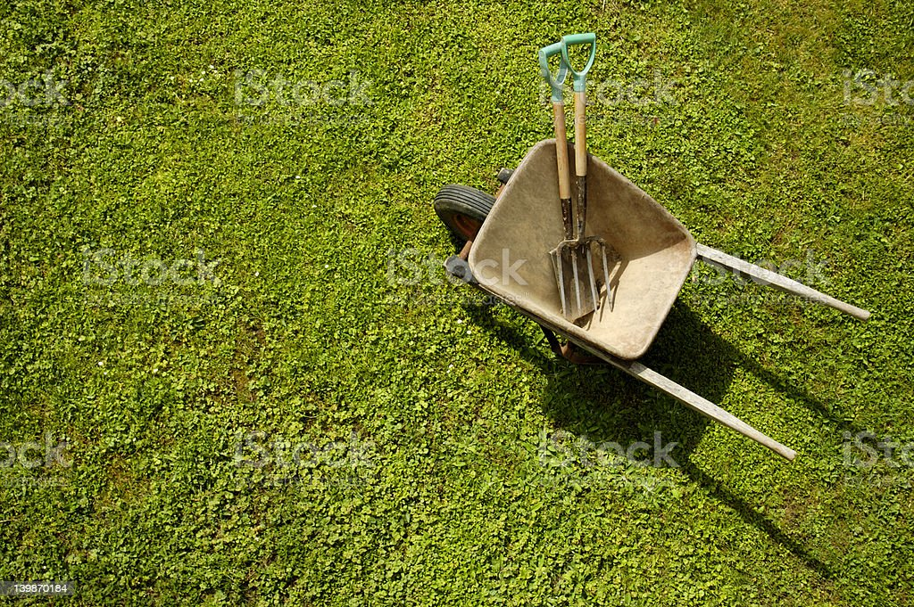 Ready for the garden - Royalty-free Above Stock Photo