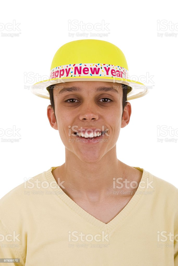 ready for the New Year royalty-free stock photo
