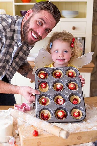bereit für den ofen! - 3 zutaten kuchen stock-fotos und bilder