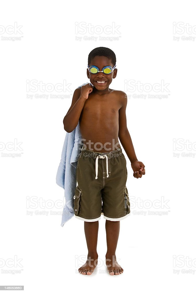 Ready for the Pool stock photo