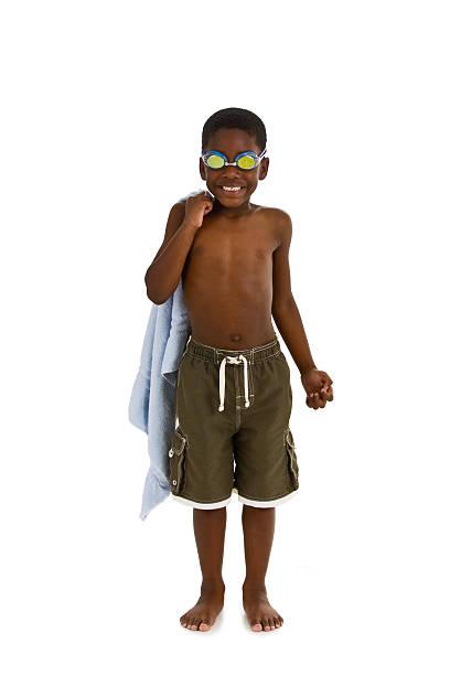 pronto para a piscina - roupa de natação - fotografias e filmes do acervo