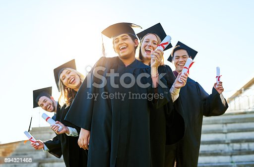 istock Ready for the real world! 894321468