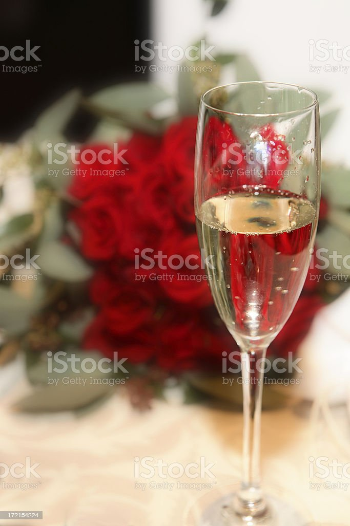 Ready for the Toast royalty-free stock photo