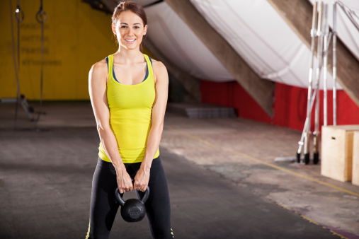 istock Ready for the WOD in a gym 494559463