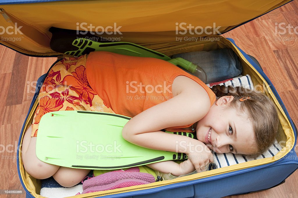 Ready for travel royalty-free stock photo