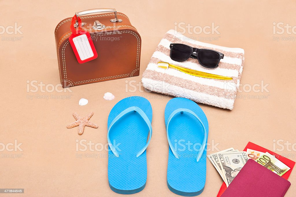 Ready for Vacation royalty-free stock photo