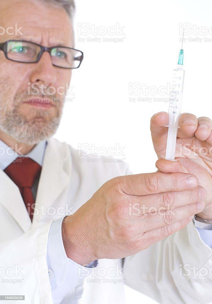 Ready for vaccination royalty-free stock photo