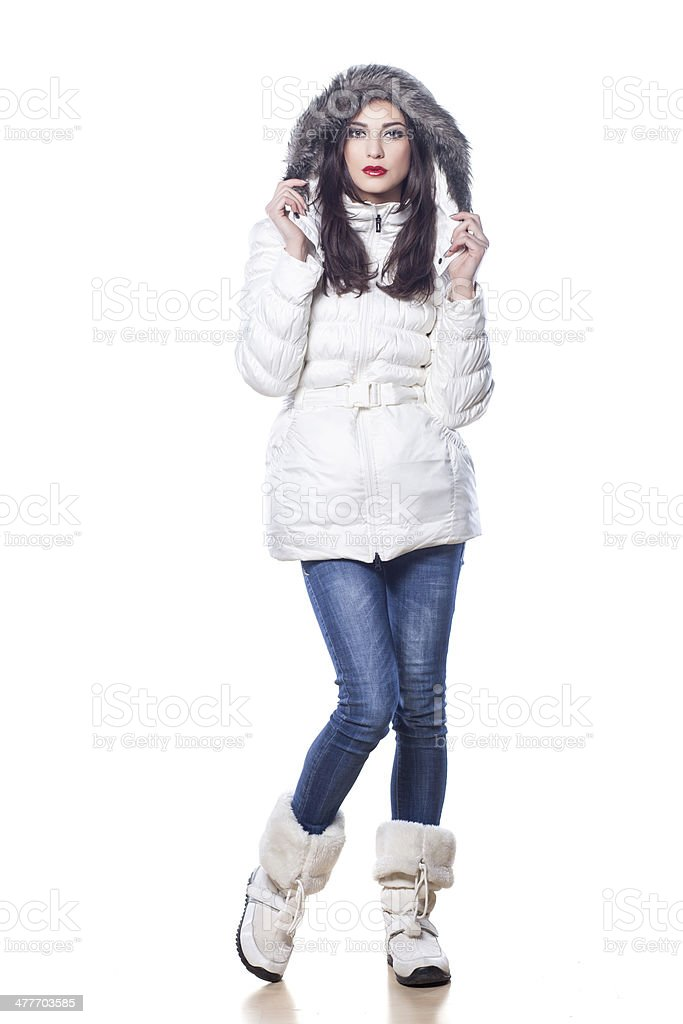 ready for winter stock photo