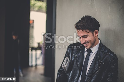 istock Ready for work 844558786
