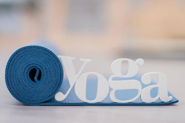 ready for yoga - icon set healthy foto e immagini stock
