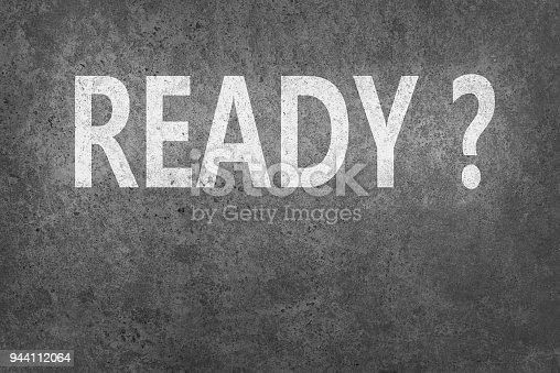 istock Ready? 944112064