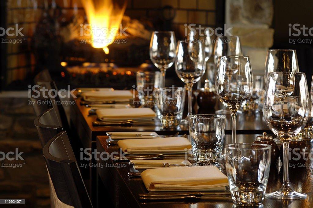 ready restaurant royalty-free stock photo