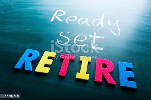 istock Ready, set, retire 177787526