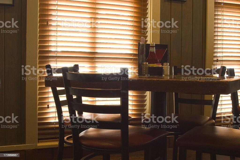 ready table royalty-free stock photo