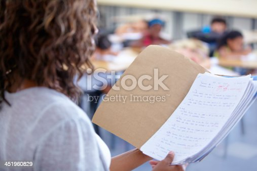 868148212 istock photo Ready to announce the marks 451960829