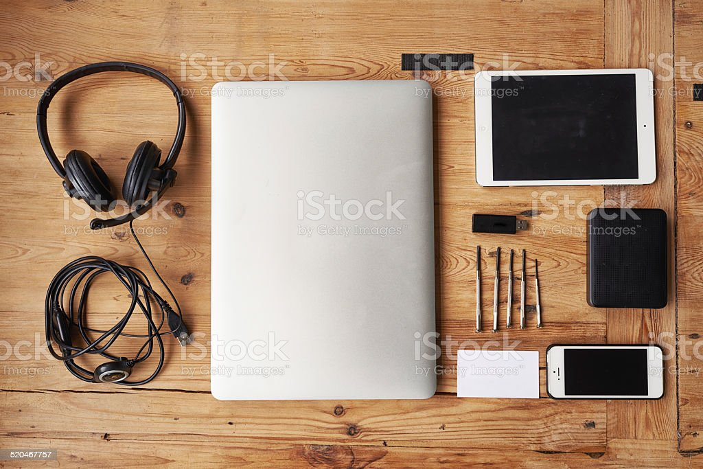 Ready to build a new device stock photo