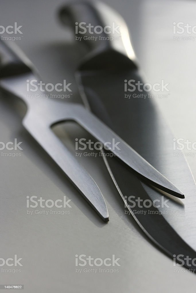 Ready to carve? stock photo
