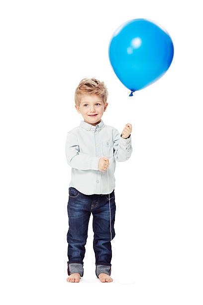 bereit zum feiern sie mit uns geburtstag - ballonhose stock-fotos und bilder