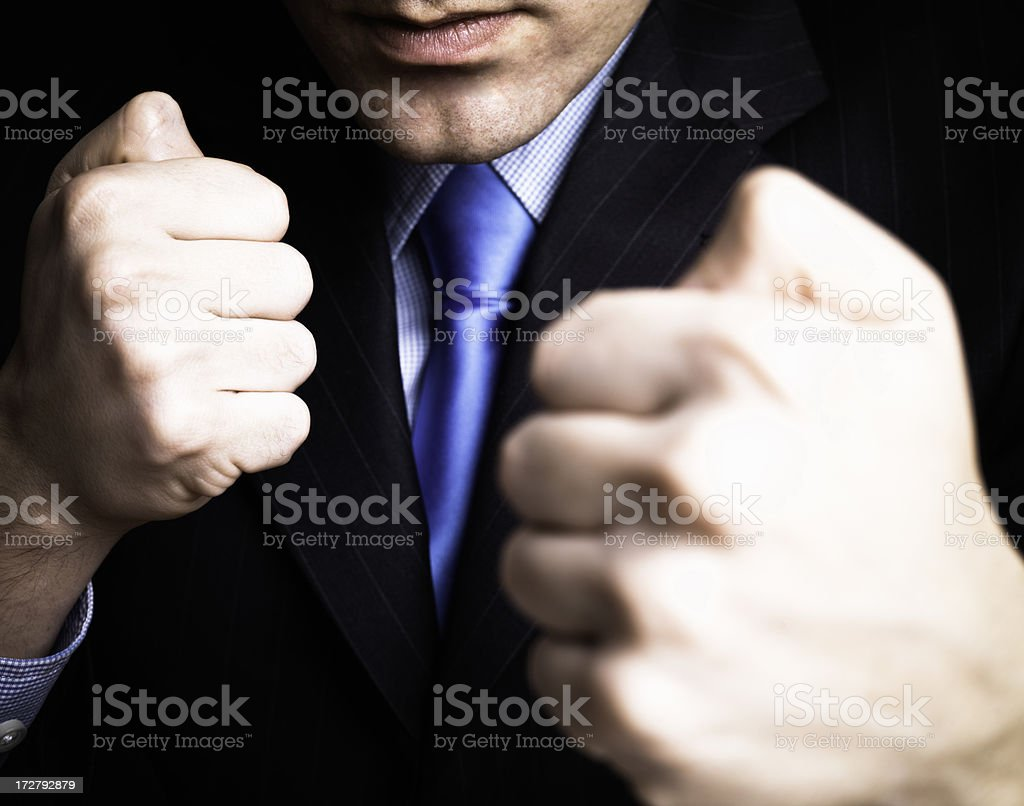 Ready to deal royalty-free stock photo