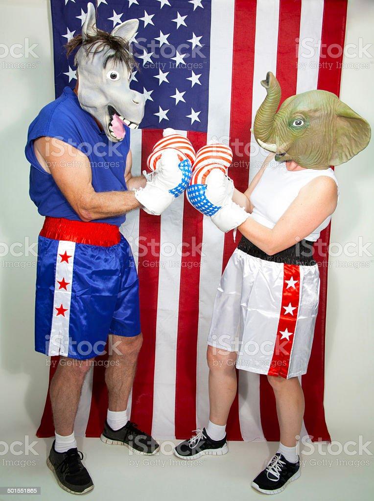 Ready to Debate stock photo