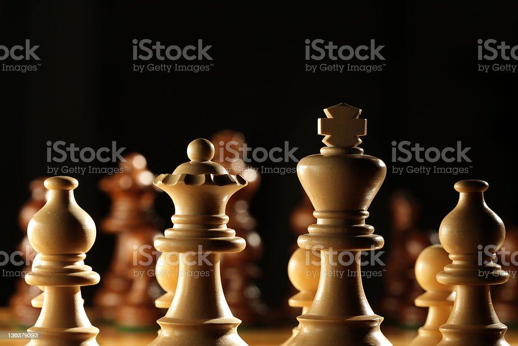 Ready to do battle royalty-free stock photo
