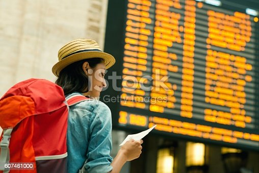 istock Ready to explore a new place. 607461000