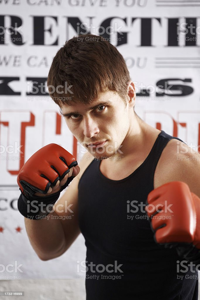 Ready to fight for you royalty-free stock photo