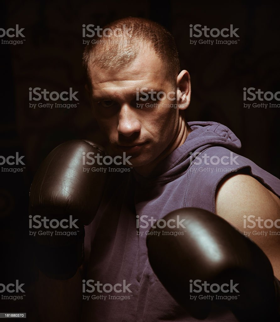 Ready to fight royalty-free stock photo