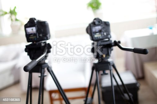 istock Ready To Filming An Interview 453168365