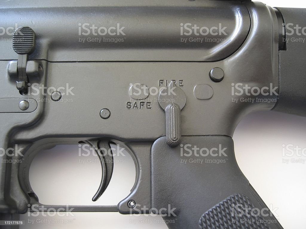 Ready to fire! stock photo