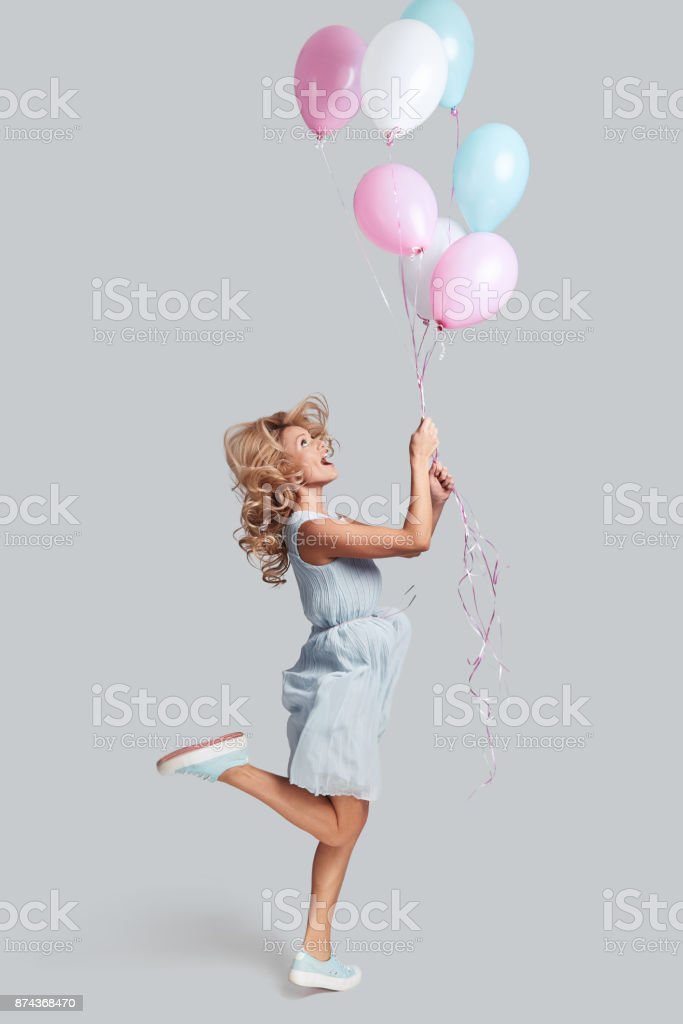 Ready to fly high. stock photo