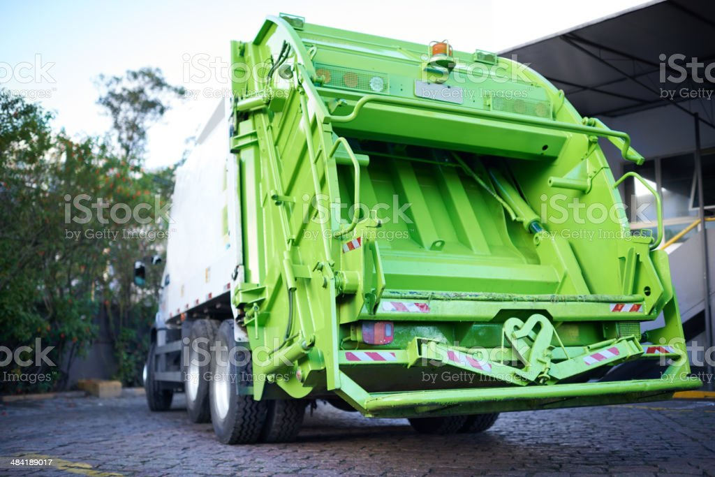 Ready to get rolling! Cropped shot of a garbage removal servicehttp://195.154.178.81/DATA/i_collage/pi/shoots/783237.jpg Car Stock Photo