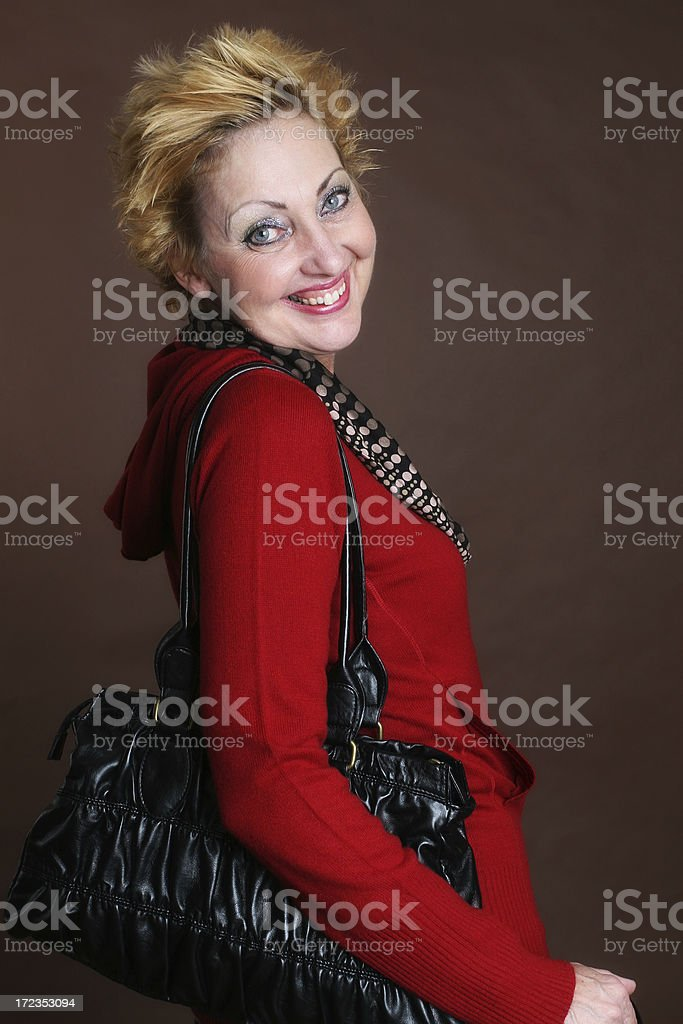 Ready to go out! royalty-free stock photo
