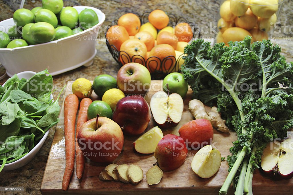 Ready to Juice stock photo