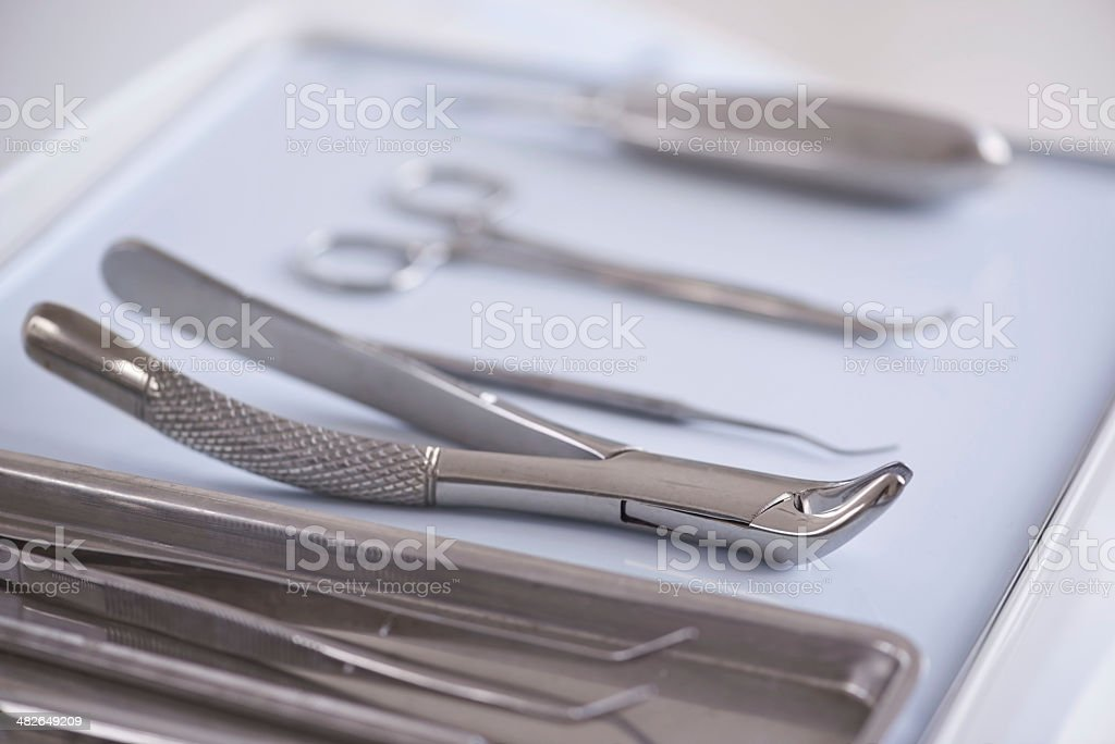Ready to keep your teeth looking good stock photo