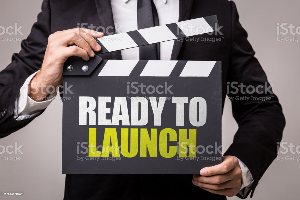 Ready to Launch stock photo