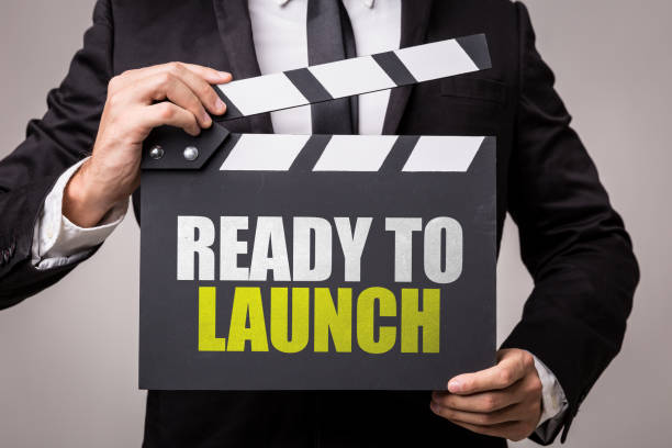 Ready to Launch Ready to Launch sign publicity event stock pictures, royalty-free photos & images