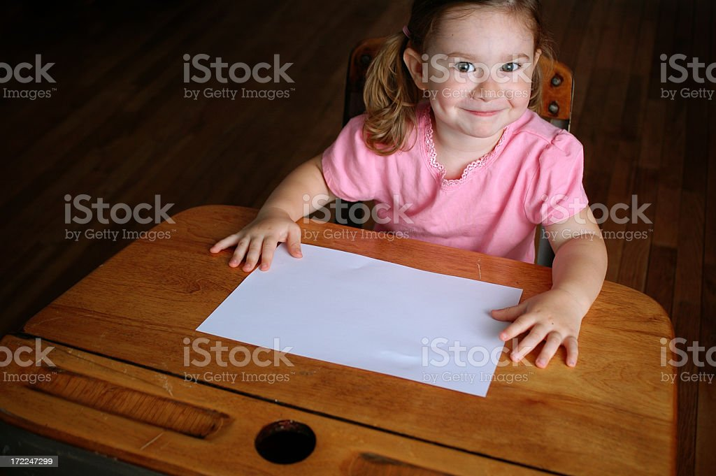 Ready to Learn! royalty-free stock photo