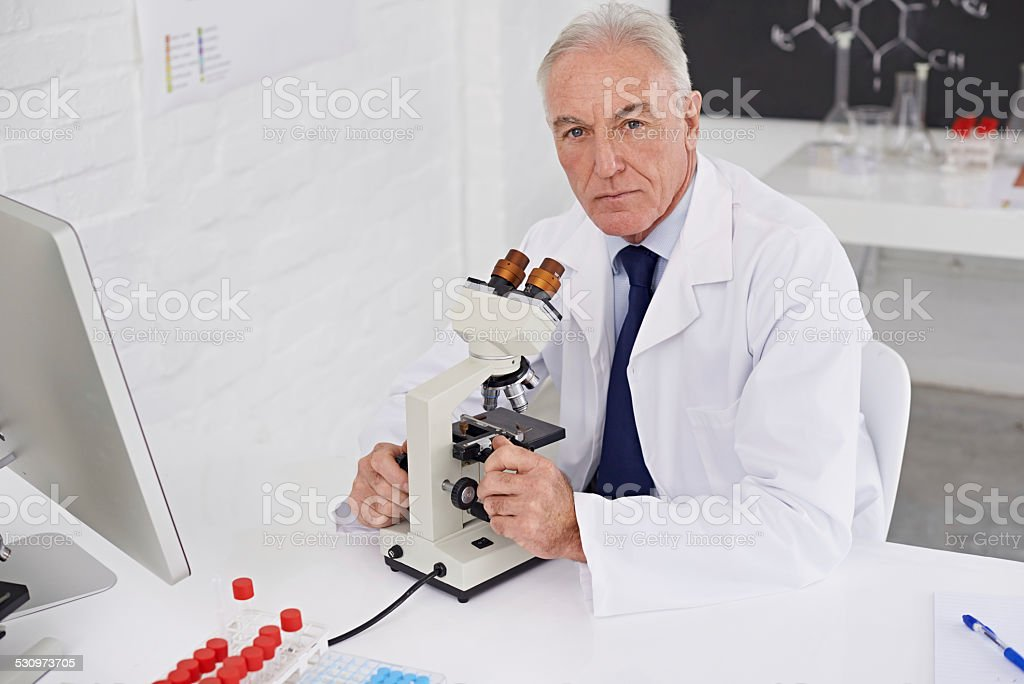Ready to make a new discovery stock photo